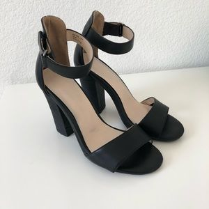 Chunky Block Heels by Cathy Jean